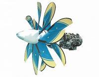 Двигатель грузовых самолётов Д-27 - фото