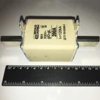 Предохранитель 200А nh1 gL gG 500В l1=120кА - фото №1