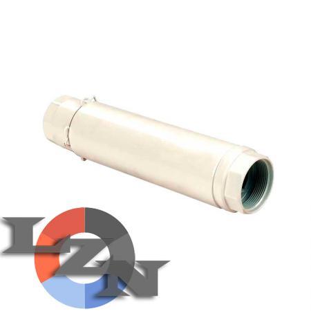 Компенсатор аксиальный приварной с наружной защитой и внутренней вставкой - фото