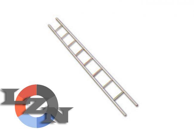 Фото лестницы-палки металлической пожарной ЛП