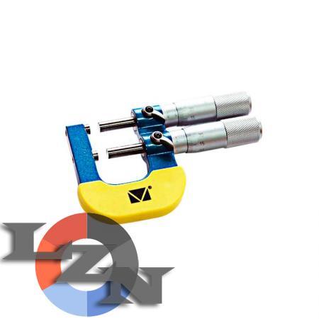 Микрометр МКП-50 двухшкальный (25-50 мм) - фото