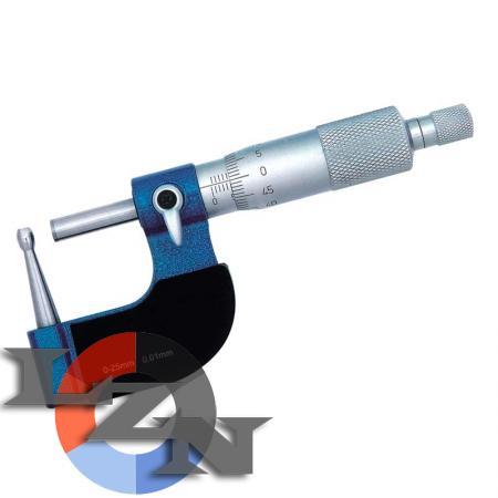 Микрометр трубный МТ-25 нониусный (0-25 мм) - фото