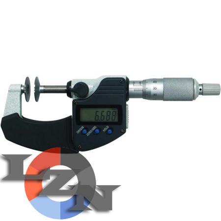 Микрометр зубомерный цифровой МЗЦ-100 - фото