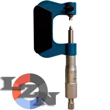 Микрометр резьбовой МВМ-175 0,01 (150-175 мм) - фото