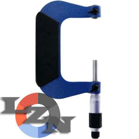 Микрометр резьбовой МВМ-200 0,01 (175-200 мм) - фото