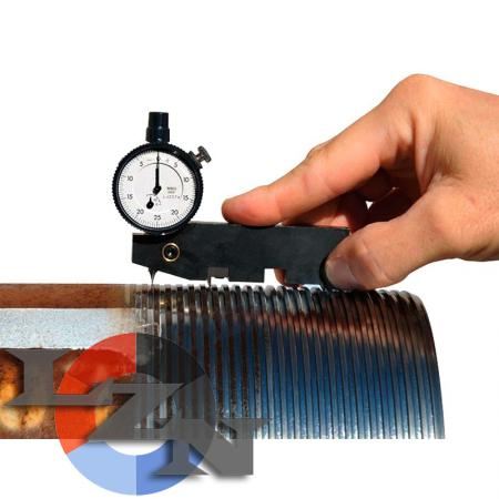 Прибор для контроля резьбы КРШВ - фото