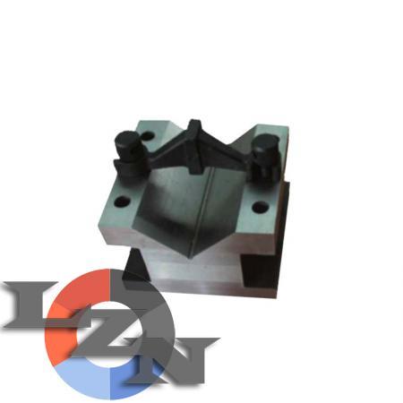 Призма стальная 75х40х40 кл.0 (с креплением) - фото