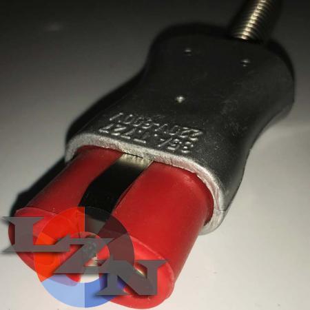 Разъем двухконтактный термостойкий (ZA727Si)-TX1004 - фото №4