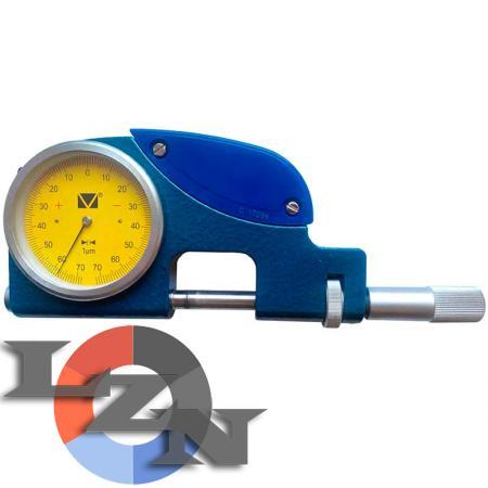 Скоба рычажная СР-В-100 (75-100 мм) с индикатором - фото
